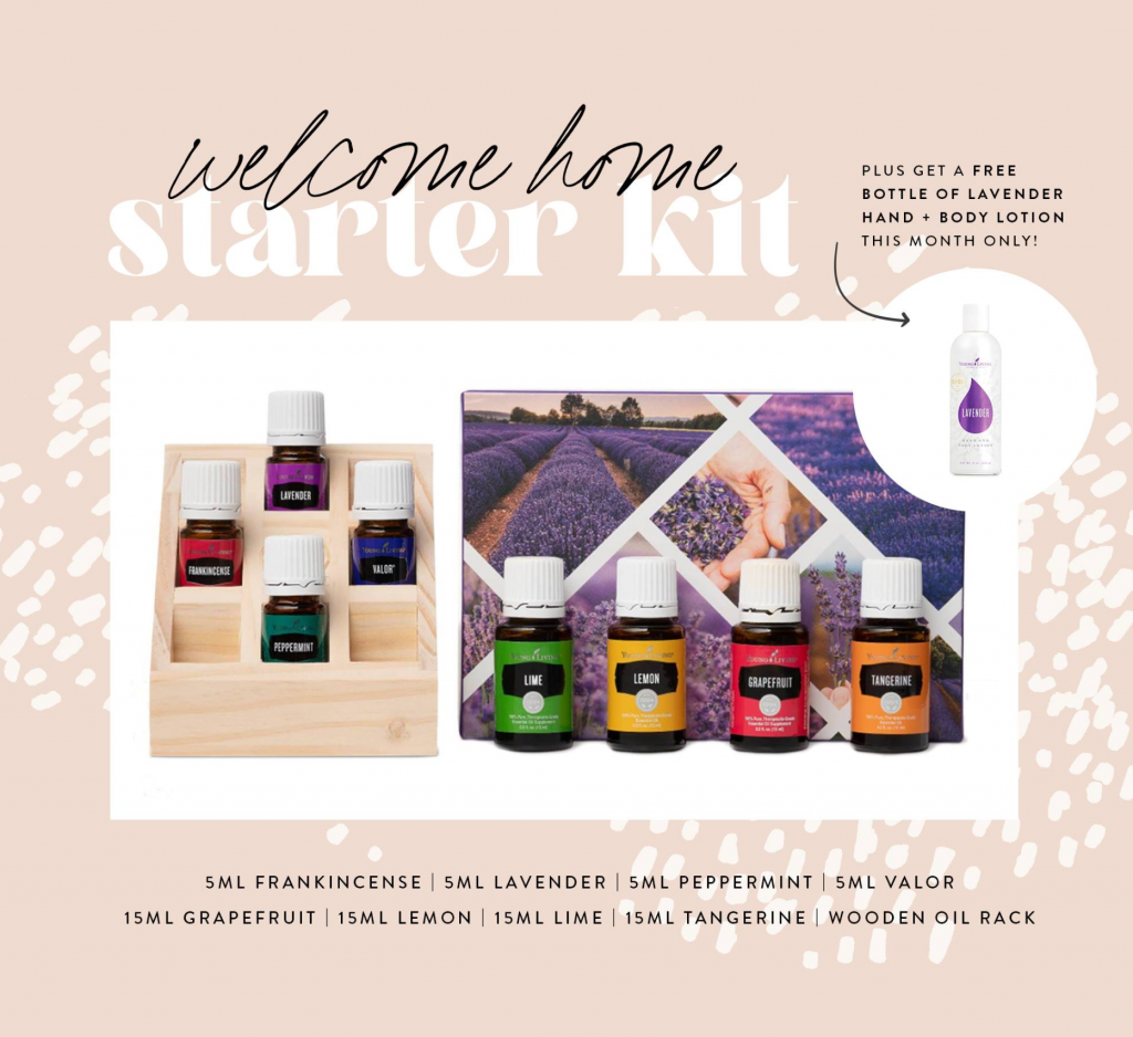 Young Living March Welcome Home