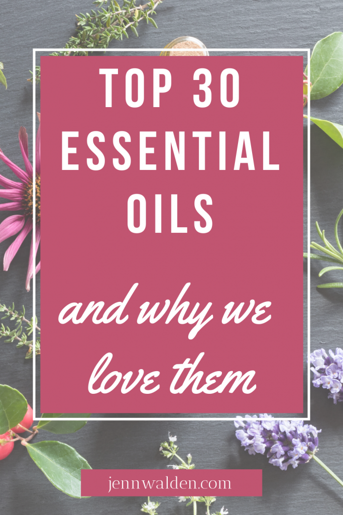 Top 30 Essential Oils