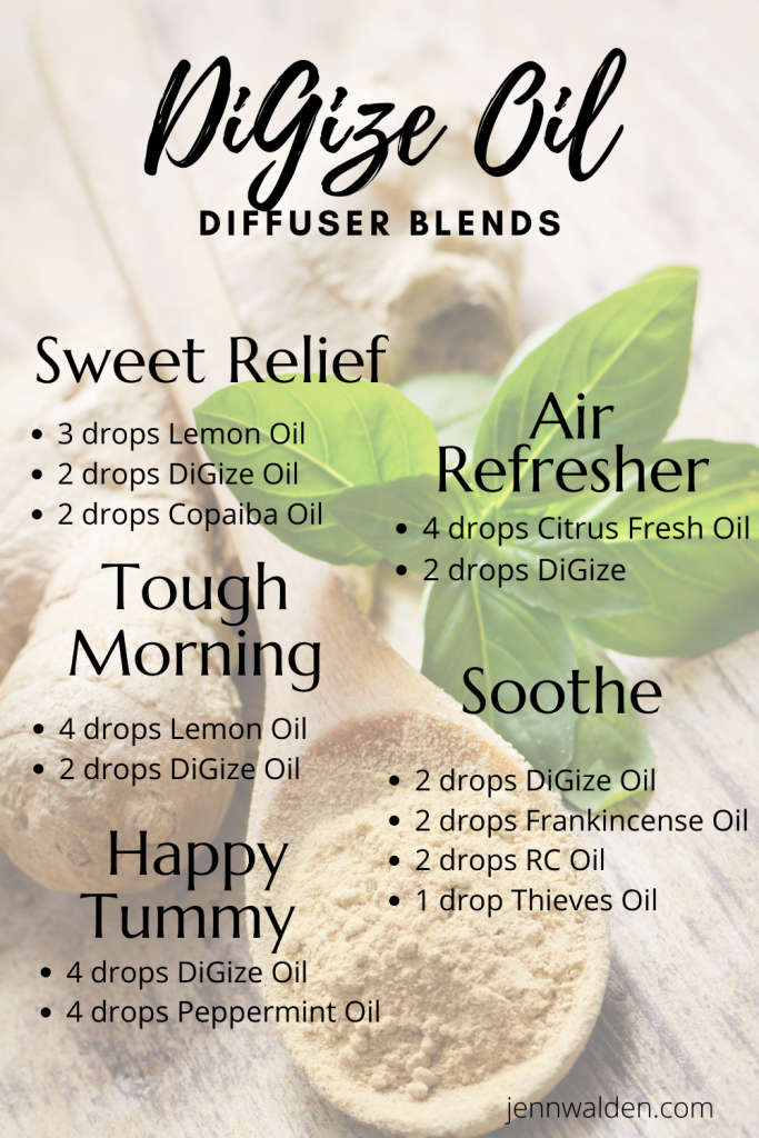 DiGize Essential Oil Diffuser Blends