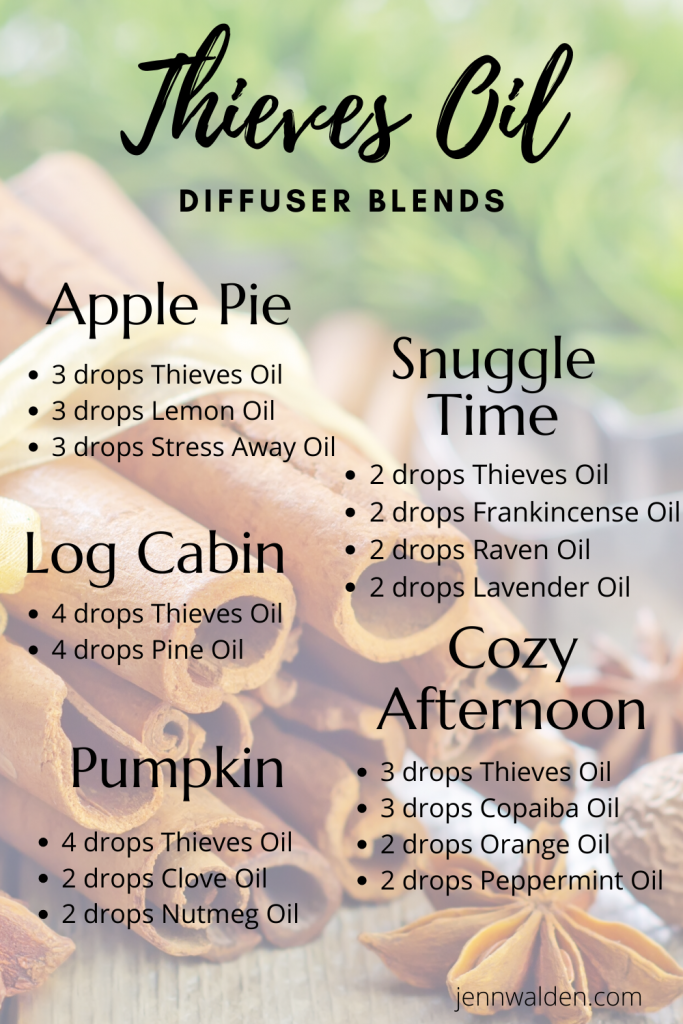Thieves Essential Oil Diffuser Blends