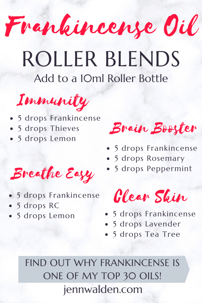 Frankincense Essential Oil Roller Blends