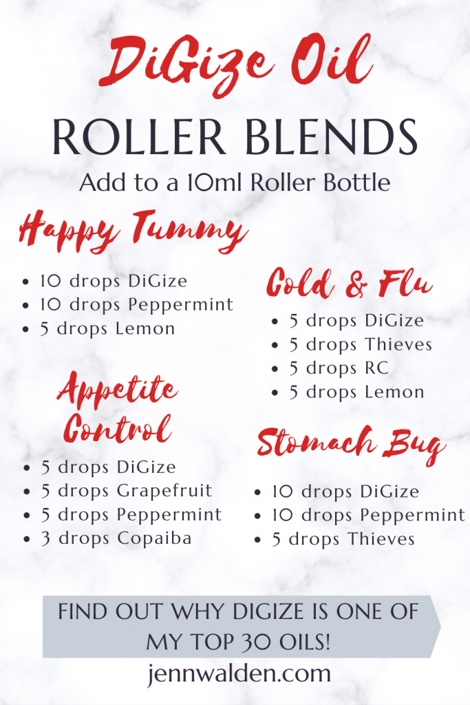DiGize Essential Oil Roller Blends
