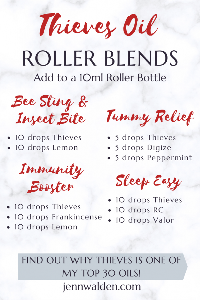 Thieves Essential Oil Roller Blends