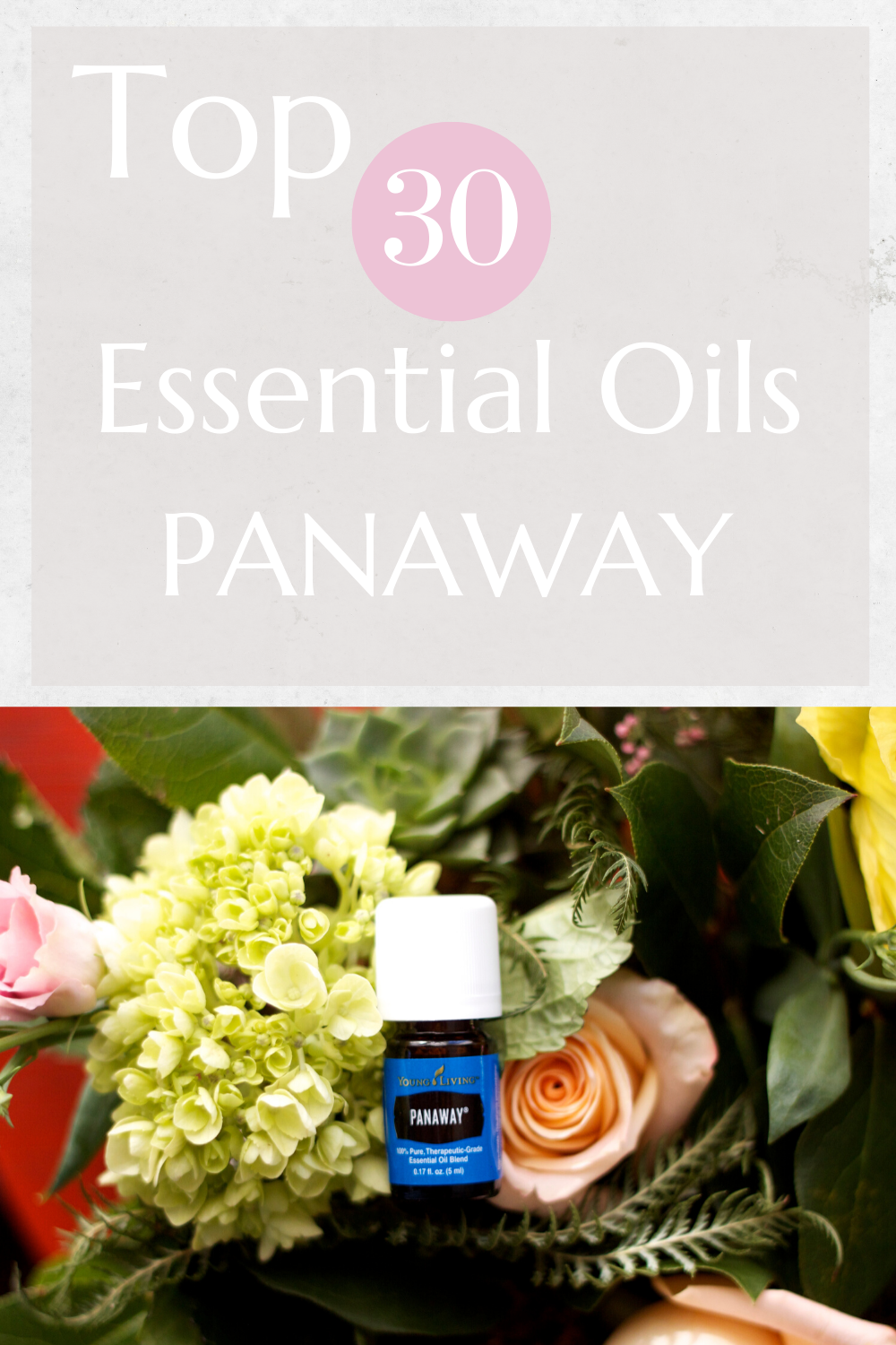 Top 30 Essential Oils Panaway