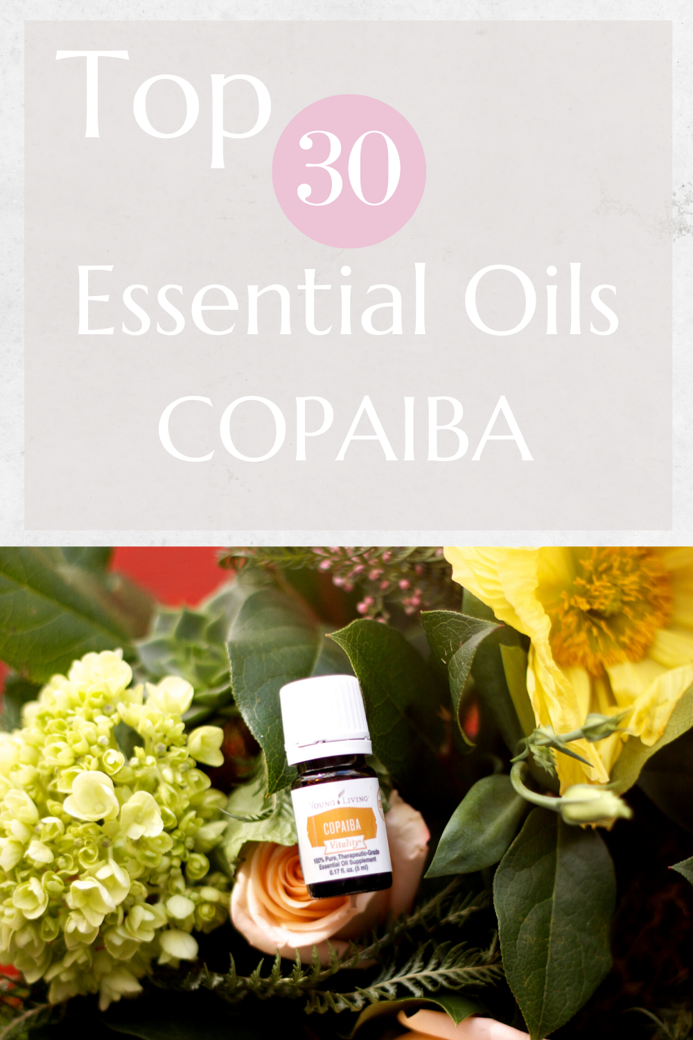 Top 30 Essential Oils Copaiba