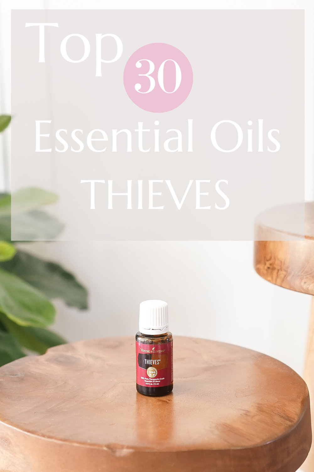 Top 30 Essential Oils Thieves